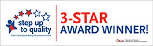 Step up to Quality 3 star award